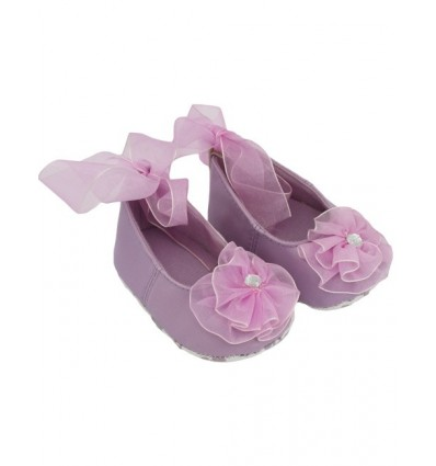 Luxury Lilac Flower Party Baby Shoes
