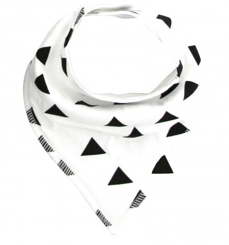 Funky Bandana Dribble Bib - Black Triangle