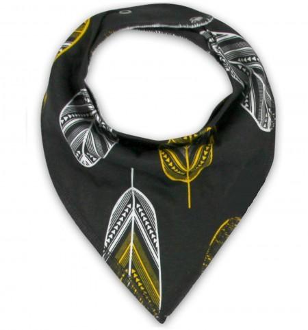 Funky Bandana Dribble Bib - Arthouse Feather
