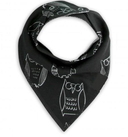 Funky Bandana Dribble Bib - Owl Fantastic