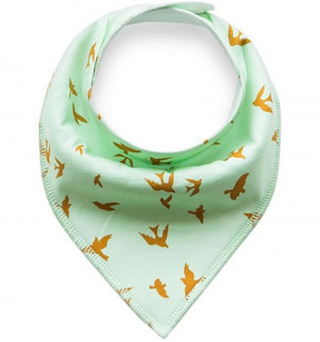 Funky Bandana Dribble Bib - Mint Eagle