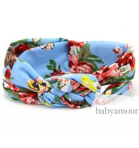 Luxury Floral Turban Headwrap Model 3
