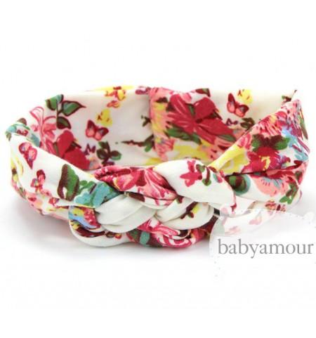 Luxury Floral Turban Headwrap Model 5