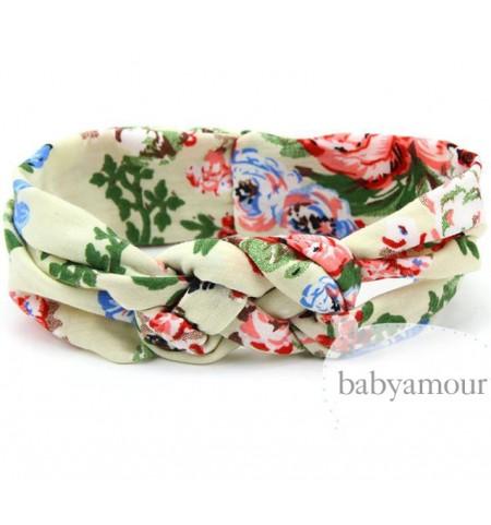 Luxury Floral Turban Headwrap Model 8