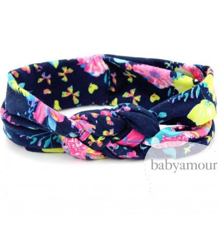 Luxury Floral Turban Headwrap Model 9