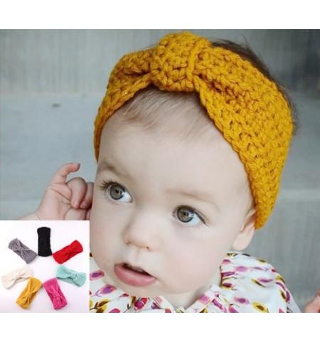 Luxury Handmade Turban Style Baby Headwrap