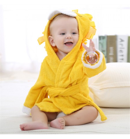 Leon The Lion Baby Dressing Gown
