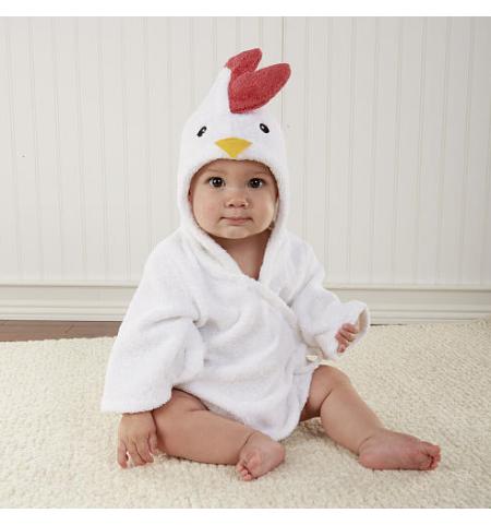 Cutiepie The Chicken Baby Dressing Gown