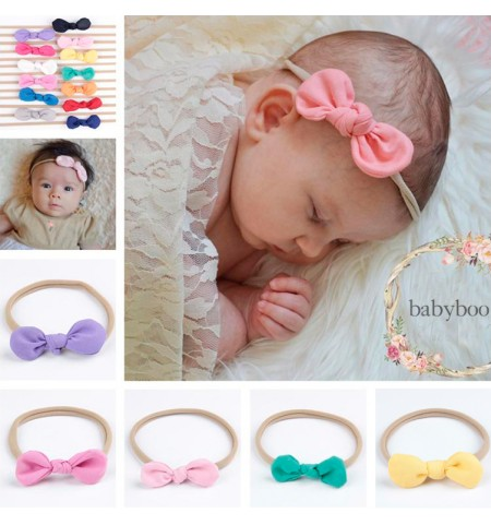 Comfy Lightweight Mini Bow Baby Headband